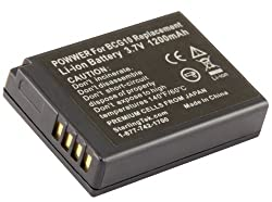 STK DMW-BCG10PP 1200mAh Battery for Panasonic Lumix DMC-ZS19, DMC-ZS20, DMC-ZS25, DMC-ZS8, DMC-ZS7, DMC-ZS3, DMC-ZS10, DMC-ZS5, DMC-ZS15, DMC-ZS1, DMC-ZS6, DMC-TZ30, DMC-ZR1, DMC-TZ10, DMC-TZ7, DMC-ZR3, DMC-TZ25, DMC-TZ35, DMC-TZ20, DMC-3D1, DMC-TZ31, DMC
