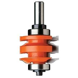 CMT 891.521.11 1-Piece Rail & Stile Bit, 2-Inch Diameter, 1/2-Inch Shank