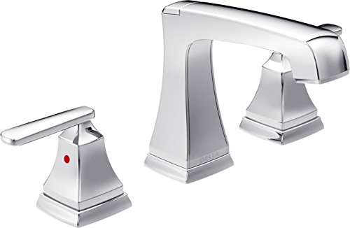 Delta Faucet 3564-MPU-DST Ashlyn Two Handle Widespread Lavatory Faucet, Chrome (Faucets Chrome compare prices)