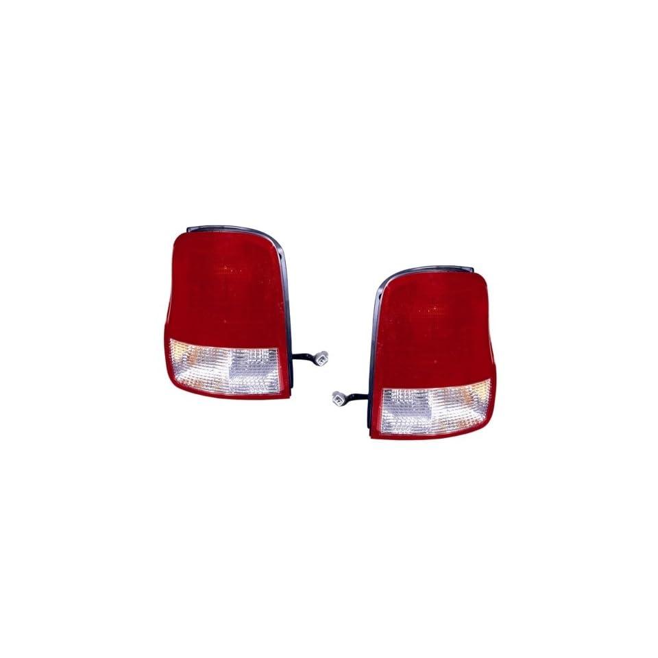 Kia Sedona Replacement Tail Light Assembly   1 Pair