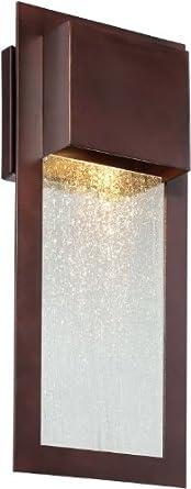 Minka Lavery 72382-246, Westgate Dark Sky Outdoor Wall Sconce Light, 35w Halogen, Bronze