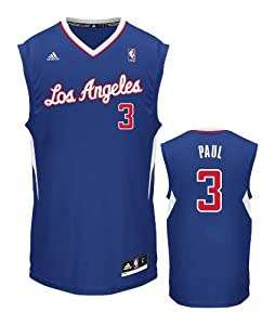 NBA Los Angeles Clippers Chris Paul #3 Youth Replica Alternate Jersey by adidas