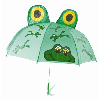 Kids Umbrella - Childrens 18 Inch Rainy Day Umbrella - Frog - 1