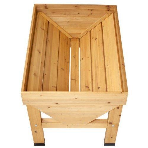 vegtrug pflanztrog aus holz 180 cm breit mittlere. Black Bedroom Furniture Sets. Home Design Ideas