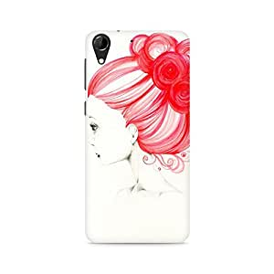 Mobicture Girl Abstract Premium Printed Case For HTC Desire 728