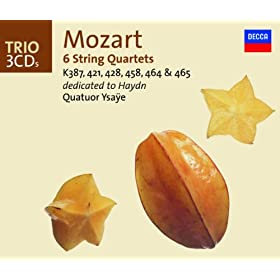 "Mozart: String Quartet No.17 in B flat, K.458 -""The Hunt"" - 2. Moderato"