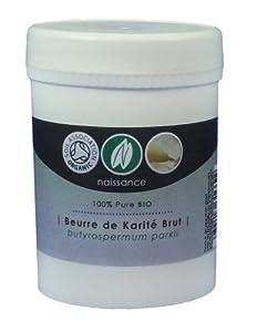 Beurre de Karité Brut BIO - Certifié BIO - 100g