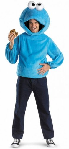 Costumes for all Occasions DG7253T Cookie Monster Adult 38-40