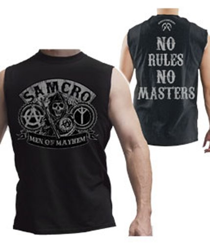 Sons Of Anarchy - No Rules Muscle Sleeveless T-Shirt