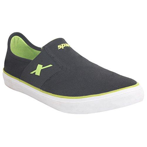 Buy SPARX Black-Green Sneaker's Size