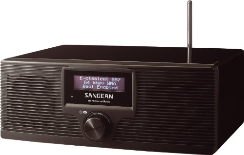 Sangean WFR-20 WiFi Internet Radio and Media Player (Black)