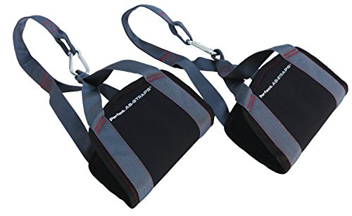 Perfect Fitness Perfect Ab Heavy Duty Straps - Black, One Size