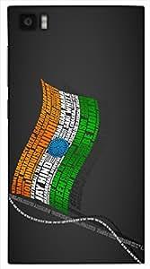 Wonderful 3D multicolor printed protective REBEL mobile back cover for Xiaomi Mi3 - D.No-DEZ-2483-xm3