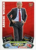 Match Attax 2011/2012 Arsenal 11/12 Arsene Wenger Manager Card #1