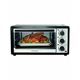 Hamilton Beach 31509 Convection 6 Slice/Broiler Toaster Oven