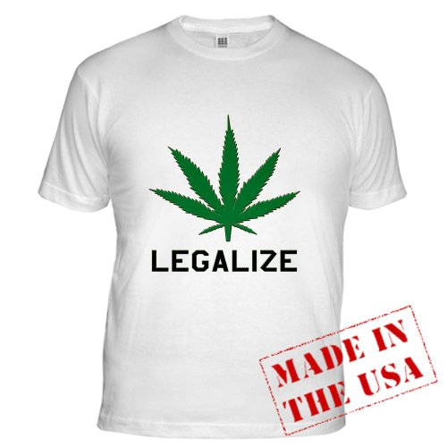Legalize Marijuana 420 Fitted T-Shirt by CafePress