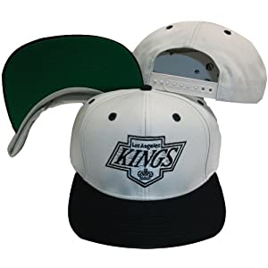 Los Angeles Kings Gray/Black Two Tone Snapback Adjustable Plastic Snap