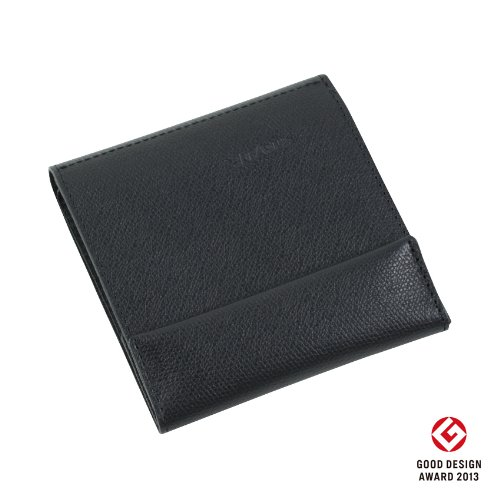 左きき用 薄い財布 abrAsus アブラサス(ブラック) 7/22 出荷