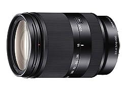 Sony 18-200mm F3.5-6.3 E-Mount Lens (Black)