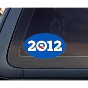 Pro Obama 2012 Presidential Election Car Decal / Sticker: Automotive ·