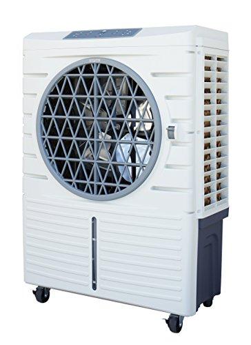 SPT - 101-Pint Heavy-Duty Indoor/Outdoor Evaporative Cooler - White SF-48LB