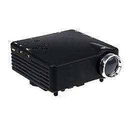 Balakie_New AV VGA USB SD HDMI HD 1080P Portable Multimedia LED Projector Home Cinema
