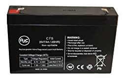 APC Smart-UPS SC 450VA, SC450RM1U 6V 7Ah UPS Battery : Replacement