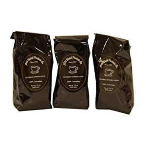 Gold Medal Bulk Columbian Coffee 12 pk