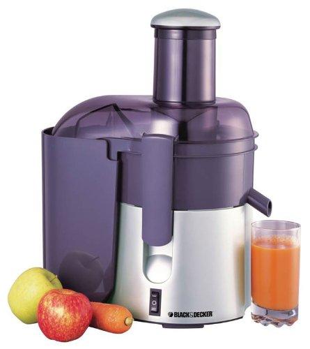 Black & Decker PRJE600 600-watt 50 Hz Juice Extractor/Juicer, 220 to 240-volt (Juicer 240 Volts compare prices)