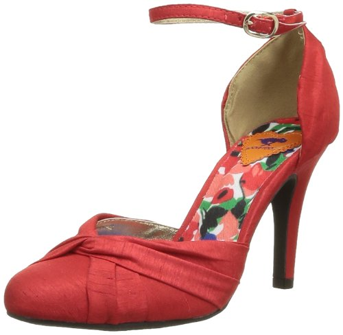 Rocket Dog Women's Oliva Court Shoes Red Rouge (Thai Silk Coral) 3.5