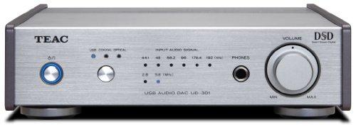 TEAC Reference 301 D/Aコンバーター デュアルモノラル構成 ハイレゾ音源対応 シルバー UD-301-S