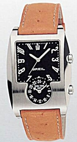 Breil Wish Men's Watch Comes with 2 Bands (1 Genuine Leather and 1 Solid Stainless Steel)