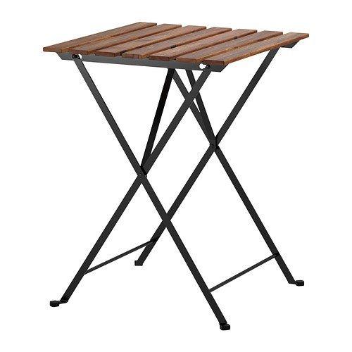 IKEA-Klapptisch-TRN-Gartentisch-aus-massiver-Akazie-und-Stahl