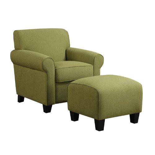 Handy Living Wtk1 Cu Lin62 Winnetka Chair And Ottoman