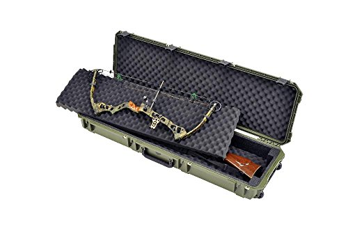 SKB Cases iSeries 5014 Double Bow Case, Olive Drab, 54X17 1/