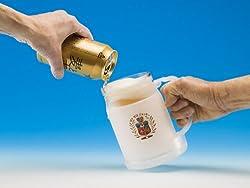 【即納商品】 冷たいまま最後まで飲める MYゼロジョッキ (マイゼロジョッキ) ※真夏の乾杯必須アイテム♪