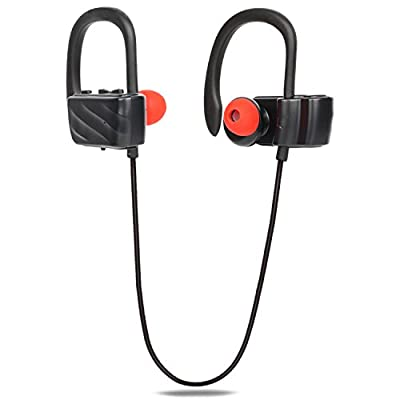 Vostronics Bluetooth Wireless Sports Headphones Sweatproof With Noise Cancelling, 8.5h Play Time