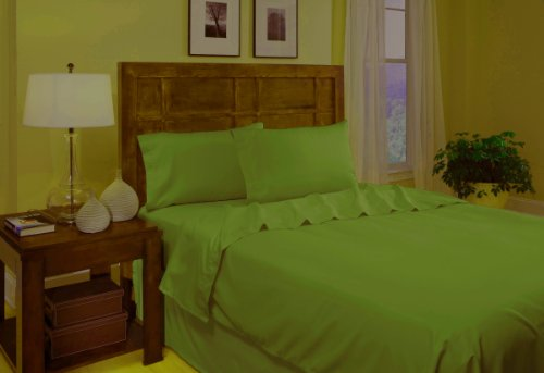 ... Lime Green) · Divatex Microfiber Sheet Sets, Twin, Lime