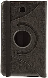 Stylabs Rotating 360° Leather Flip Case Tablet Book Flip Case Cover For Samsung Galaxy Tab 4 T231 - Black