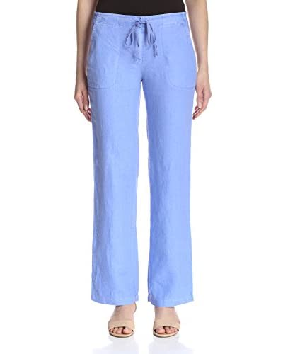 J. McLaughlin Women's Beach Linen Relaxed Fit Pant