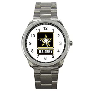 U.S. Army Security 9WLGO901 Men's Wristwatches Stainless Steel