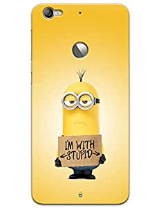 I'M With Stupid - Kevin - Minions case for LeTV Le 1s
