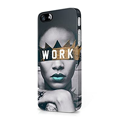 Rihanna Work iPhone 5, iPhone 5S, iPhone SE Hard Plastic Phone Case Cover