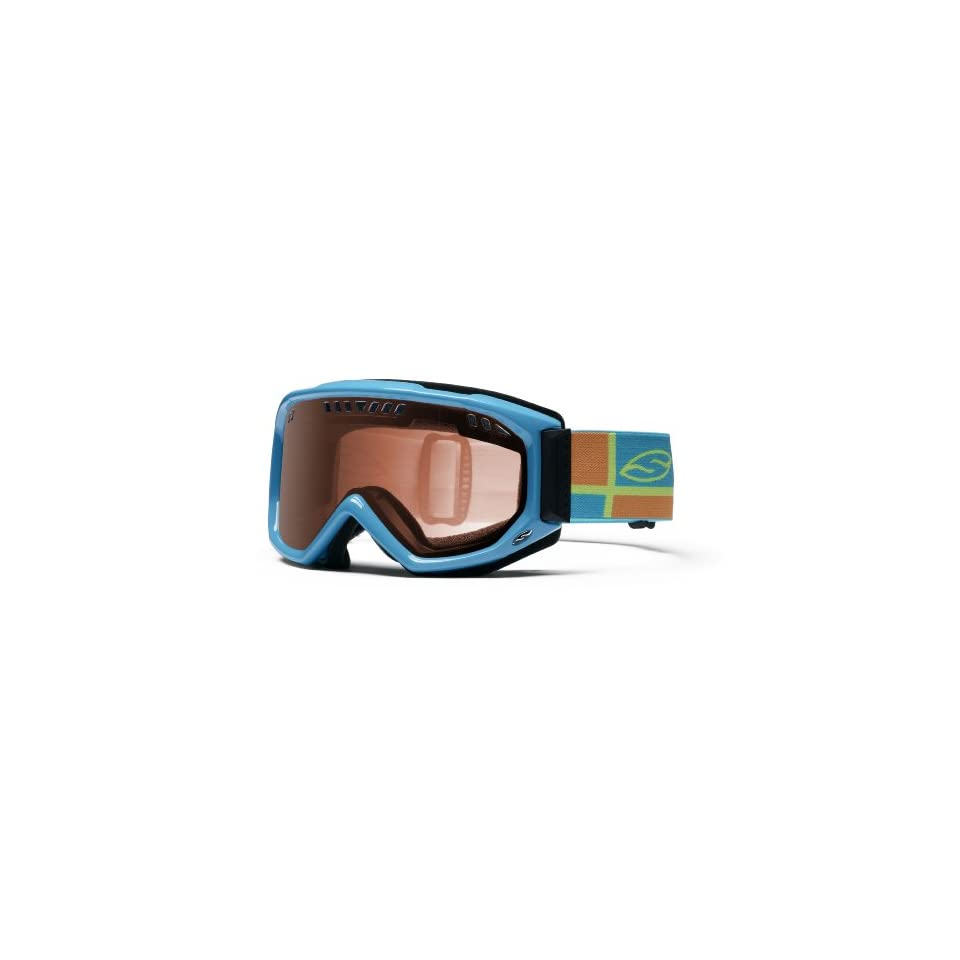 fbde7be738abd Smith Optics Scope Pro Airflow Series Snow Goggles (Electric Blue  Intersection