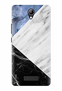 Noise Designer Printed Case / Cover for Lyf Wind 3 / Patterns & Ethnic / Look Likes Marble Case Design