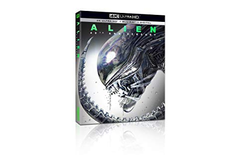 4K Blu-ray : Alien (With DVD, 4K Mastering, Widescreen, Digital Theater System)