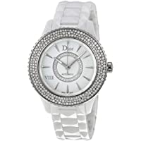 Dior VIII Diamond Studded Automatic Womens Watch