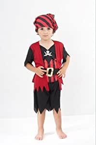 Pirate Boy - Childrens Fancy Dress Costume - Toddler - 90 to 104cm