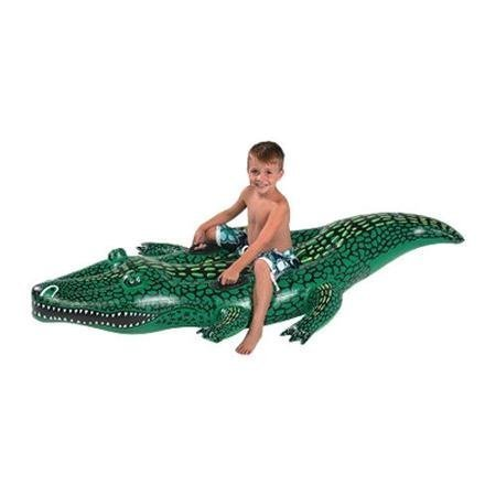 Kids Alligator Swimming Pool Float. This Gator Float Is the Perfect Water Raft for Fun in the Sun At the Beach or Pool for Your Children. by SunSplash