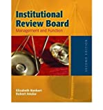img - for [(Institutional Review Board: Management and Function)] [Author: Elizabeth A. Bankert] published on (January, 2006) book / textbook / text book
